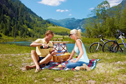 Picnic am Bergsee
